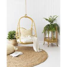 HANGING CHAIR | rosie design in light honey by byron bay hanging chairs