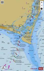 Cape Fear River Cape Fear To Wilmington Marine Chart