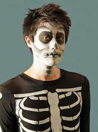 y skeleton makeup