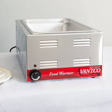 full size 12 x 20 electric countertop food pan warmer commercial buffet