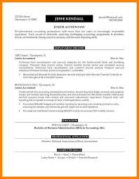 Objective Accounting Resumes 9 Accounting Resume Objectives Letter Adress