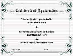 certificate of recognition templates certificates of recognition free templates free template for