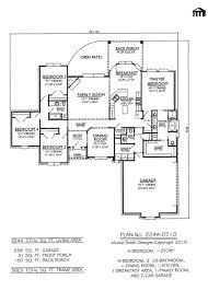 Modern Four Bedroom House Plans Four Bedroom House Two Story House Plan Endearing Two Story House