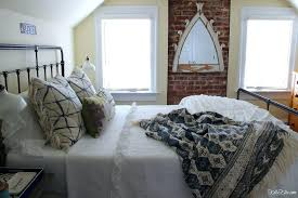 full size of blue and white guest bedroom ideas bedding refresh home improvement inspiring attic brick