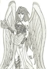 Coloring Pages Of Fallen Angels
