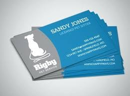 Pet Sitter Business Cards Pet Sitter Business Cards Medianet