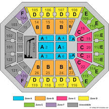 Efficient Seating Chart For Mohegan Sun Concerts Seating