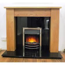 atlantic solid oak fireplace surround