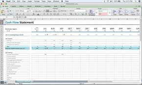 Simple Cash Flows A Beginners Cash Flow Forecast Microsofts Excel Template