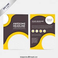 flyer design free vector