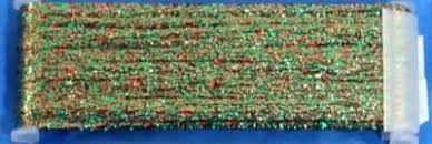 Yli Ribbon Floss Metallic 021 Holly Berry