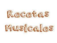 Resultado de imagen de Recetas musicales