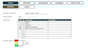 Meeting Room Scheduler Template Reservation Template