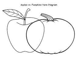 Pumpkin Venn Diagram Venn Diagram Apples Pumpkins
