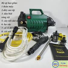 ĐÁNH GIÁ] Máy rửa xe chỉnh áp Zukui S6 - 2800W - chỉnh áp phù hợp cả rửa xe  oto và vệ sinh điều hòa máy lạnh - tặng bình xà bông,