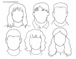 portraits heads for mix and match 1 portrait drawings step by step instructions on instructions worksheet ks1