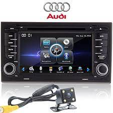 Ouku Rear Camera 7 Double Din Inch Auto Dvd Car Gps Navigation Radio For Audi A4 2002 2003 2004 2005 2006 2007 2008 With Car Enter Audi Audi A4 Gps Navigation