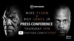 Start date may 8, 2020; Mike Tyson Vs Roy Jones Jr Press Conference Video Fightmag