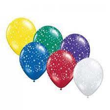 Decorative Stars For Parties Stars Latex Balloons Latex Printed Balloons Party Decor And
