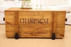 Truhe Frachtkiste Champagne