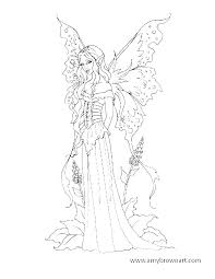 Printable Fairy Coloring Pages Related Post Free Printable Gothic