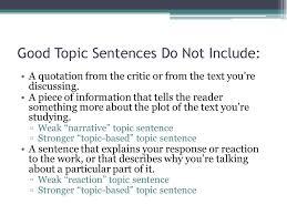 duane theobald topic sentences duane theobald ppt 6 good