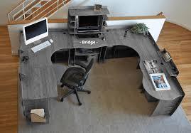 large desks for home office. Full Size Of Desk \u0026 Workstation, Pretentious Legare Furniture Inch Bridge Connector Grey And Large Desks For Home Office L