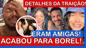 🔥 ACABOU PARA NEGO DO BOREL: TRAIÇÃO é EXPOSTA em DETALHES e ÁUDIO CHOCA!  Duda Reis CONFIRMA - YouTube