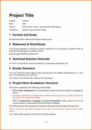 Proposal Layouts Inspiration Software Project Proposal Template 48 Software Project Proposal