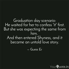 Quotes For Graduation Mesmerizing Graduation Day Scenario Quotes Writings By Sricharan R