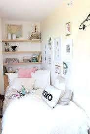 girl dorm room decor this white dorm bedding creates such a cute dorm room cute dorm room decor