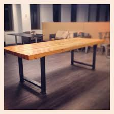 industrial metal and wood furniture. Industrial Steel Table Legs For Metal Dining Remodel 9 And Wood Furniture