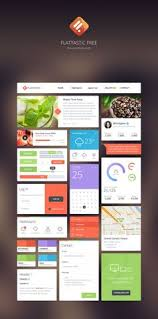 749 Best Free Ui Kits Images Ui Design Page Layout Design Web