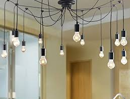 WINSOON Modern 14 Heads Pendant Ceiling Lamp Lighting Without Bulb For  Kitchen Island Living Room Lights Fixture