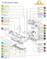 dyson dc14 parts diagram elegant dyson replacement parts dc07