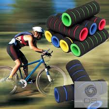 DS   1 <b>Pair</b> Mountain <b>Bike</b> Handlebar Cover Sponge Cycling <b>Anti</b> ...