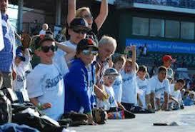 Bridgeport Bluefish Game Family Baseball Outing