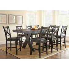 dining room table height. amsterdam 9 piece counter height dining set room table s