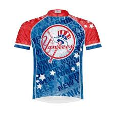 Primal Wear Yankees Vintage Mens Cycling Jersey Xl
