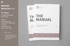 It Manual Template Brand Manual Templates Creative Market 20