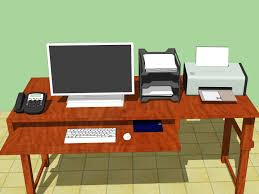 how to sit at a computer steps pictures wikihow set up an ergonomically correct workstation