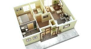 3 Bedroom House Plans 3d 3 Bedroom House Plans Plan For A Three Bedroom  House Ideas .