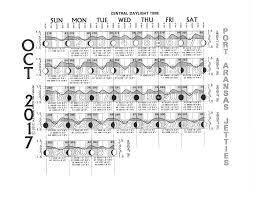 Tide Chart For September Port Aransas Climate