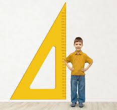 Ruler Height Chart Kids Sticker