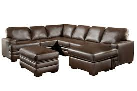 loggins 2 piece bonded leather sectional from gardner white furniture