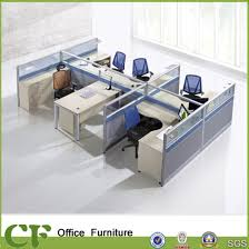 office cubicle desk. Stylish 5 Seater Wooden Office Cubicle With Manager Desk O