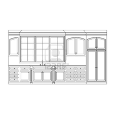 simple kitchen drawing. Full Size Of Kitchen:simple Kitchen Elevation Simple With Design Picture Drawing I