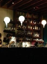 cabezon restaurant glass jellyfish lighting fixtures at the funky bar