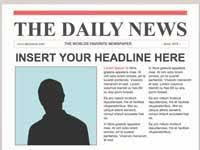 Newspaper Template Olden Times Editable Olden Times Newspaper