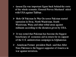 role in war on terror current situation 8